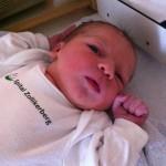 Elina kurz nach der Geburt