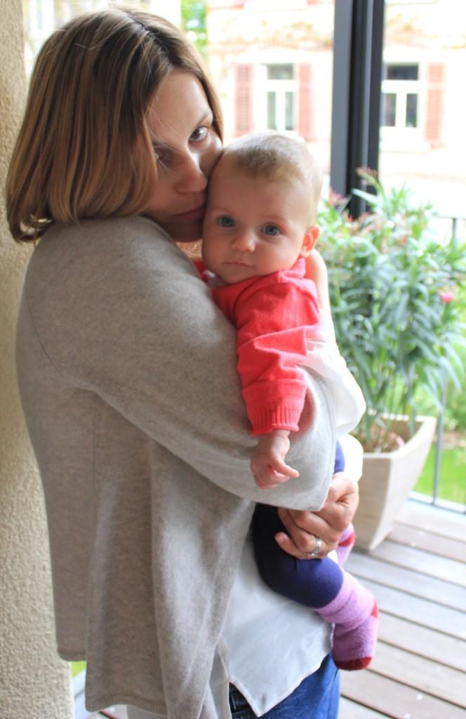 Mami und Elina