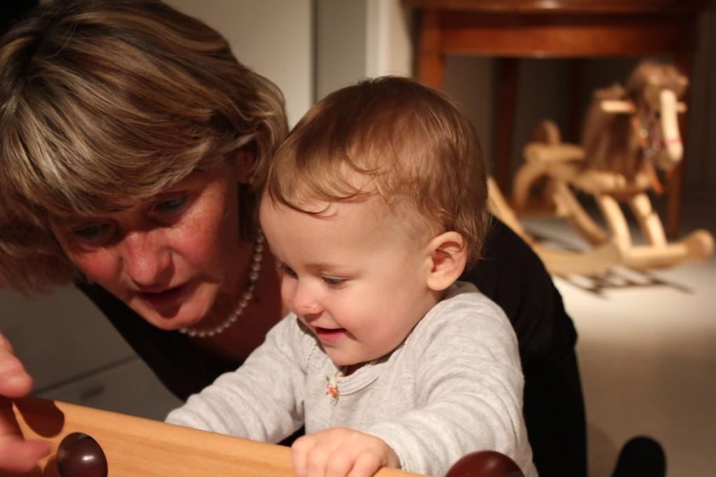 Spiel mit Oma