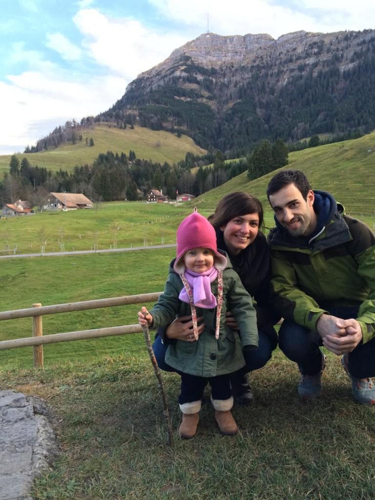 Zwerg mit Onkel und Tante
