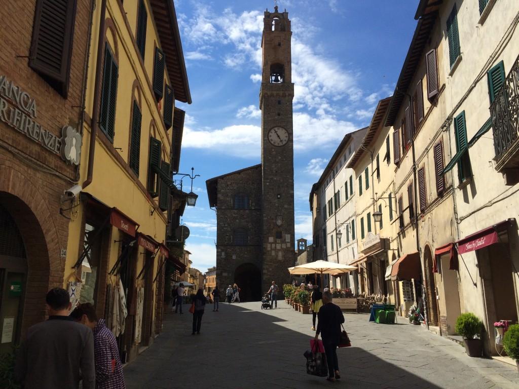 Piazza del Popolo, Montalcino